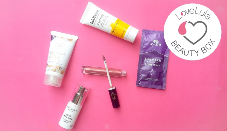Love Lula Beauty Box August 2019