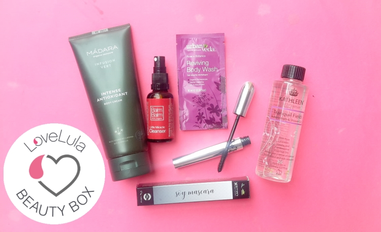 Love Lula Beauty Box September 2019