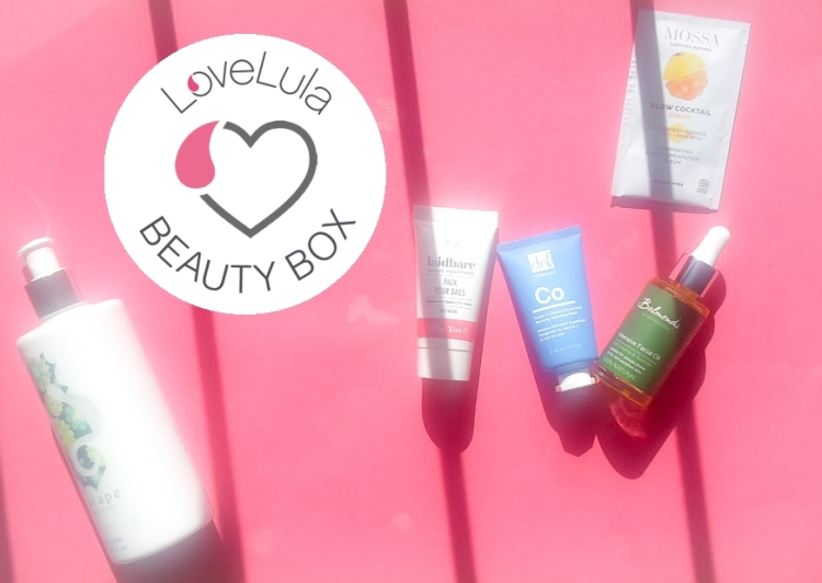 Love Lula Beauty Box October 2019