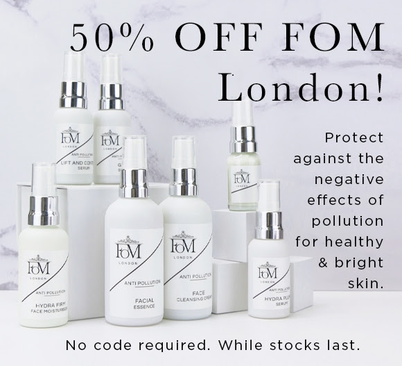 FOM London 50 percent off