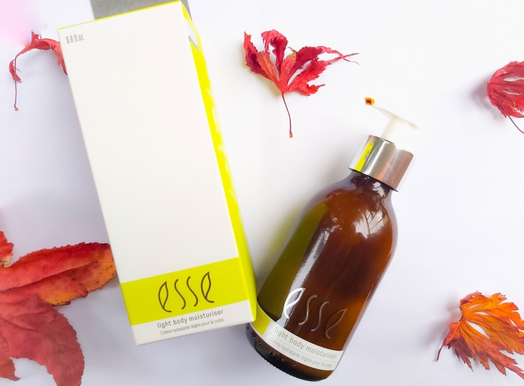 Esse Light Body Moisturiser and Body Oil Review