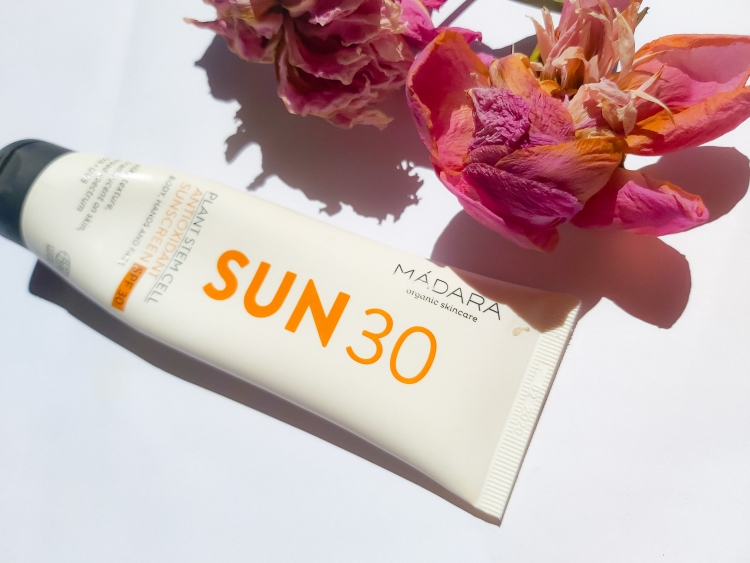 Madara Plant Stem Cell Antioxidant Sunscreen SPF30 Review