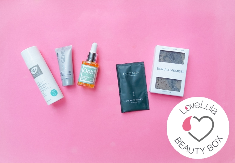 Love Lula Beauty Box November 2020