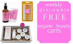 Weekly Discounts and Free Organic Beauty Gifts #52