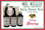 Mel Millis Phytonutri Daily Travel Trio Giveaway