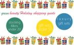 Green Beauty Holiday Shopping Guide 2015