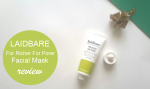 Laidbare For Richer For Porer Facial Mask Review