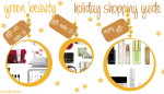 Green Beauty Holiday Shopping Guide 2016
