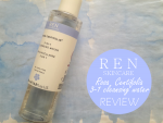 REN Rosa Centifolia 3-In-1 Cleansing Water Review