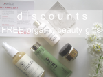 Weekly Discounts and Free Organic Beauty Gifts #75