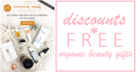Weekly Discounts and Free Organic Beauty Gifts #81