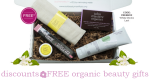 Weekly Discounts and Free Organic Beauty Gifts #82