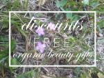 Weekly Discounts and Free Organic Beauty Gifts #84