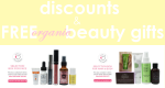 Weekly Discounts and Free Organic Beauty Gifts #85