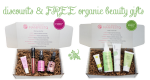 Weekly Discounts and Free Organic Beauty Gifts #90