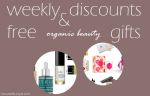 Weekly Discounts and Free Organic Beauty Gifts #56