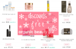 Weekly Discounts and Free Organic Beauty Gifts #59