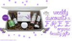 Weekly Discounts and Free Organic Beauty Gifts #60