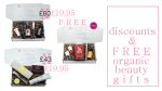 Weekly Discounts and Free Organic Beauty Gifts #87