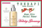 Therapi Honey Skincare Rose Otto Facial Toner Giveaway