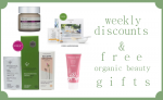 Weekly Discounts and Free Organic Beauty Gifts #54